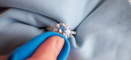 Čištění šperků