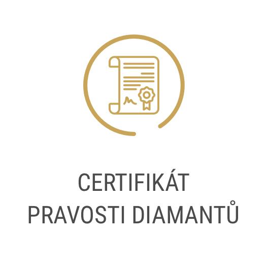Certifikát pravosti diamantů