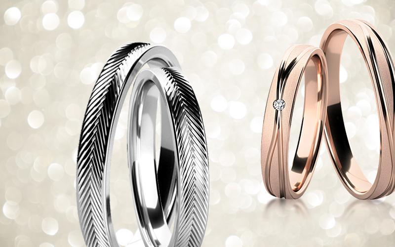 Snubní prsteny DUO