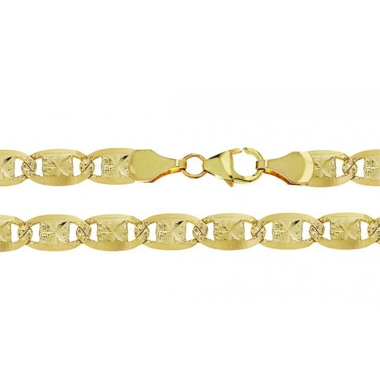 Netradiční řetěz Miko II, žluté zlato