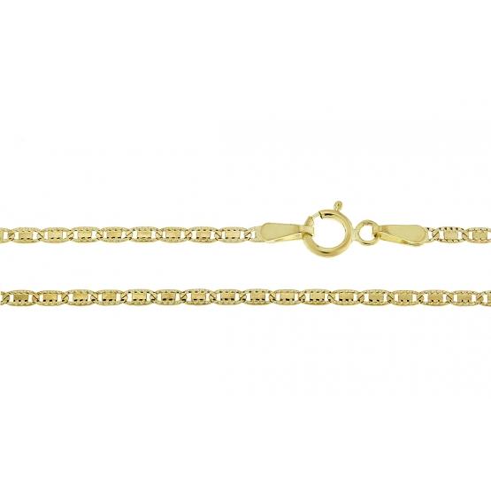 Originální řetěz ze žlutého zlata
