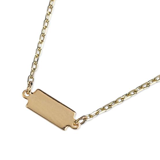 Zajímavý řetěz Curtis, kombinované zlato