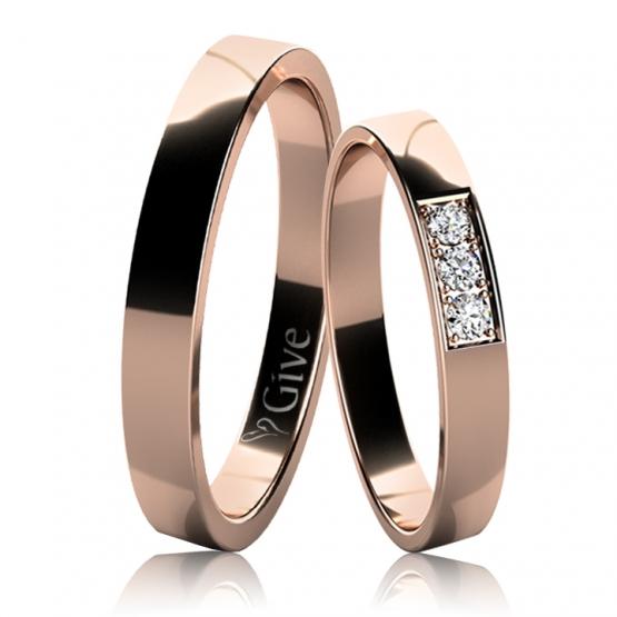 Snubní prsteny Rylan