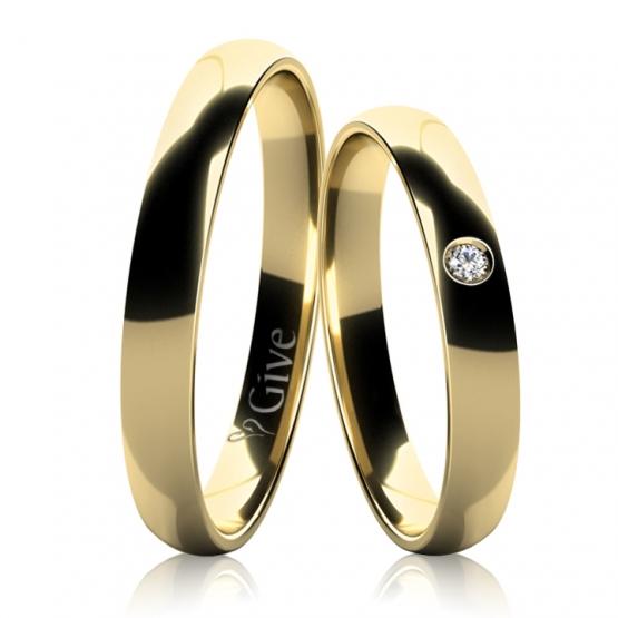 Give, Snubní prsteny ANDREE