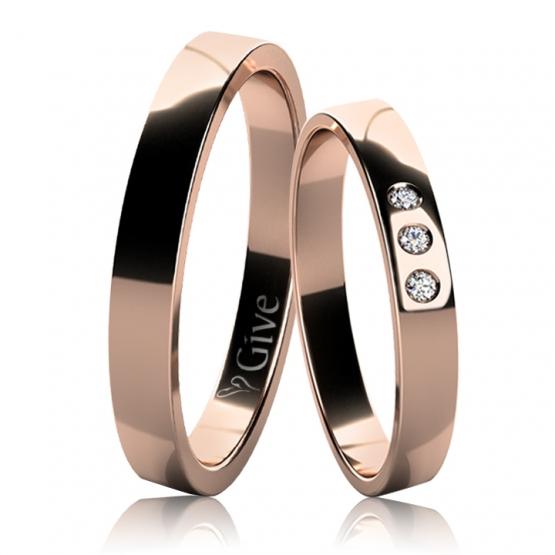 Snubní prsteny Avaline
