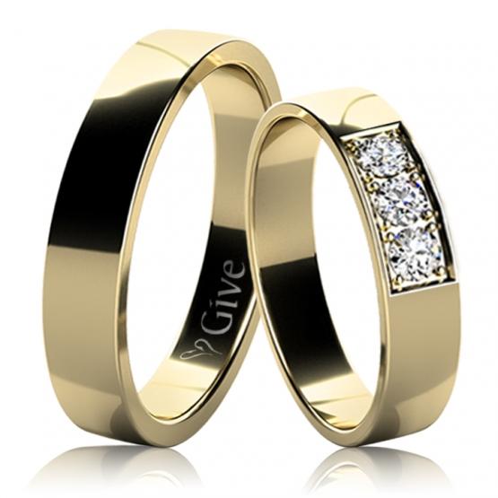 Give, Snubní prsteny Lacey