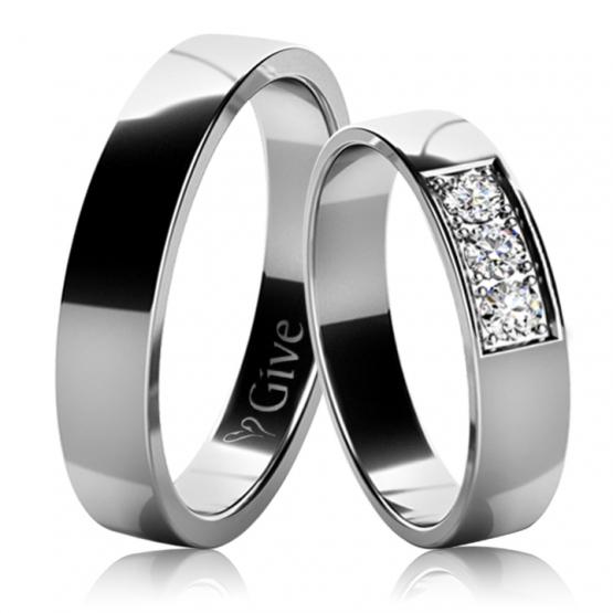 Snubní prsteny Lacey