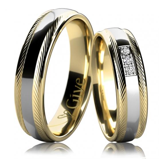 Snubní prsteny Karolin