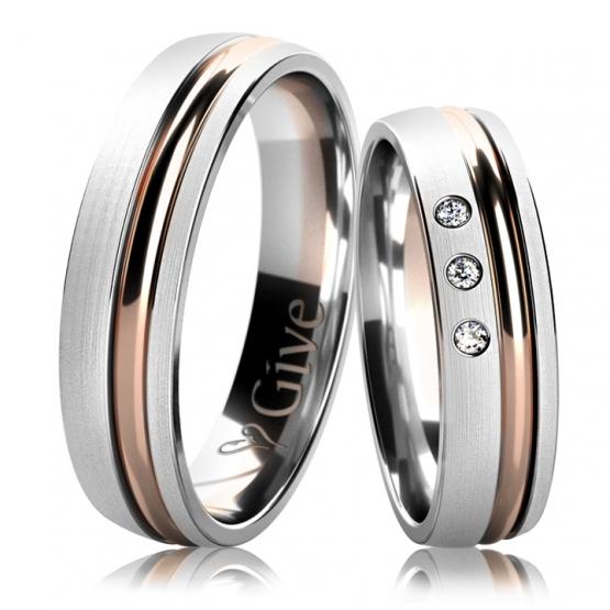 Snubní prsteny Faye