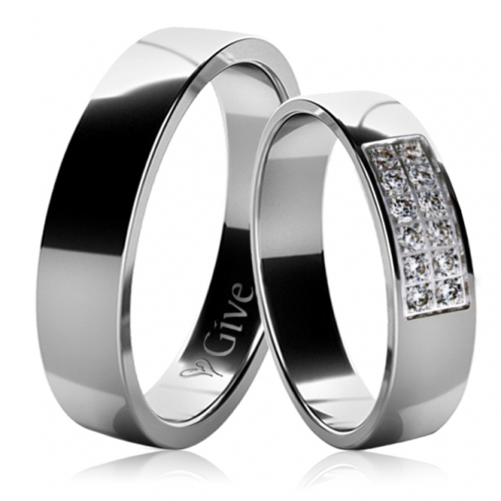 Snubní prsteny Nela