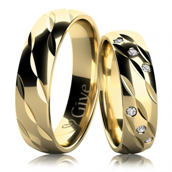 Give, Snubní prsteny Aldon