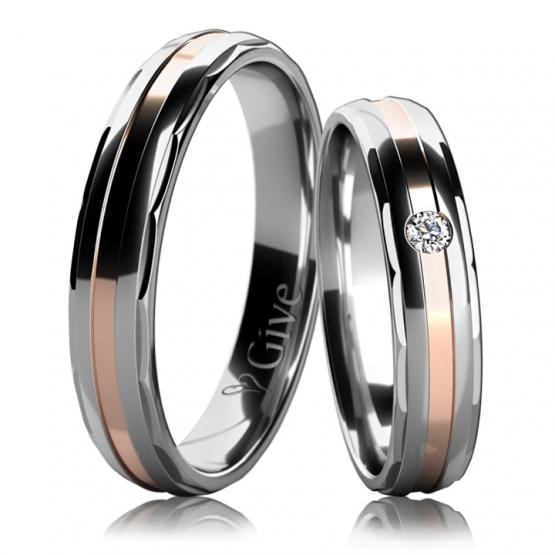 Snubní prsteny Amia