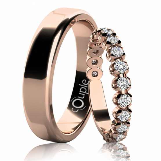 Couple, Snubní prsteny Blair