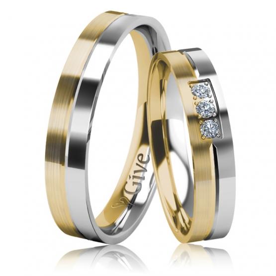 Snubní prsteny Alvin
