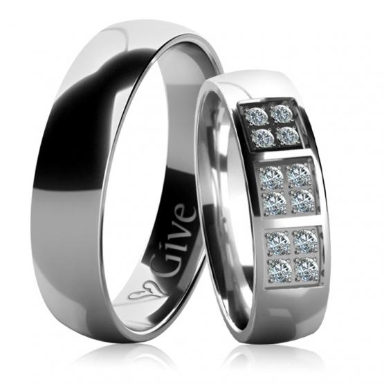 Snubní prsteny Clai