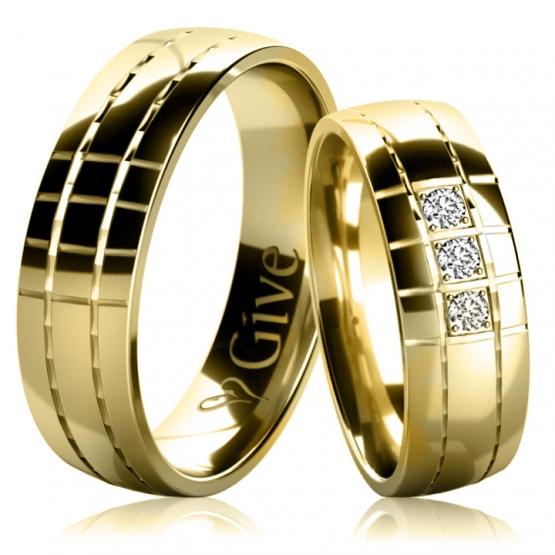 Snubní prsteny Valeria