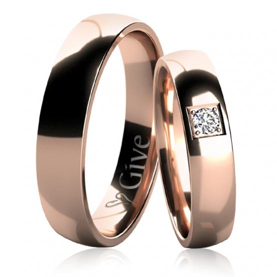 Snubní prsteny Daisy