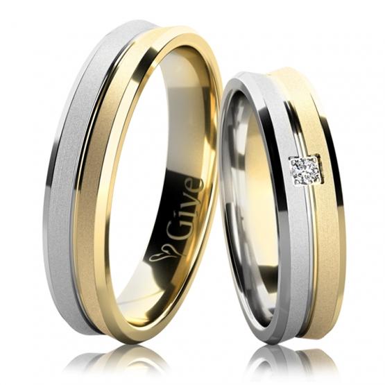 Give, Snubní prsteny Calvin