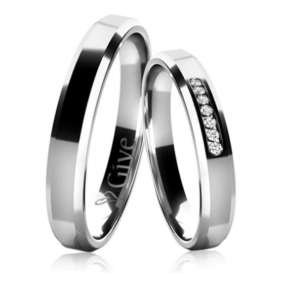 Snubní prsteny Laurin