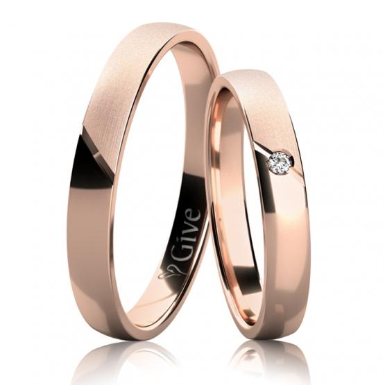 Snubní prsteny Edith