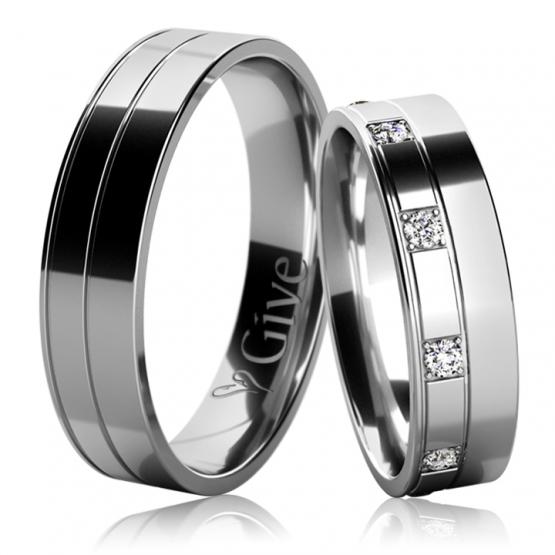 Snubní prsteny Taryn