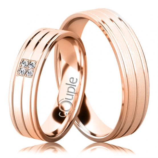 Snubní prsteny Dylan II