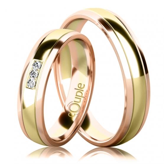 Snubní prsteny Corey