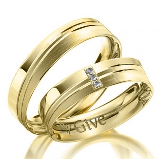 Give, Snubní prsteny River
