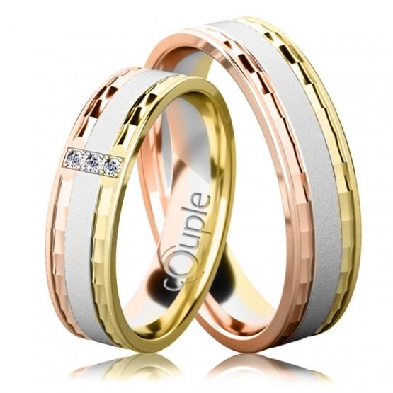 Snubní prsteny Celine
