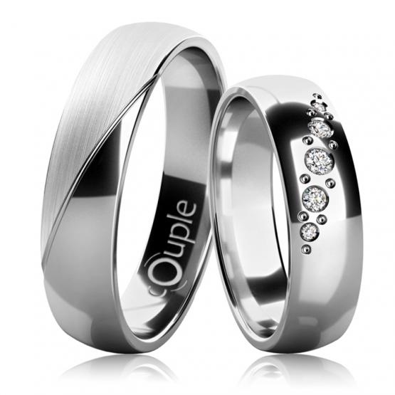 Couple, Snubní prsteny Bubble