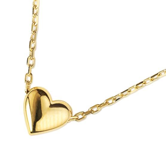 Decentní náhrdelník Cassandra ve žlutém zlatě