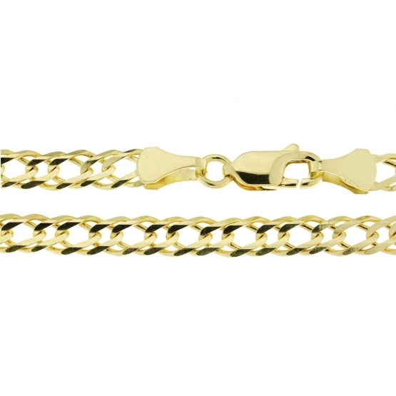Výrazný řetěz Fili, žluté zlato