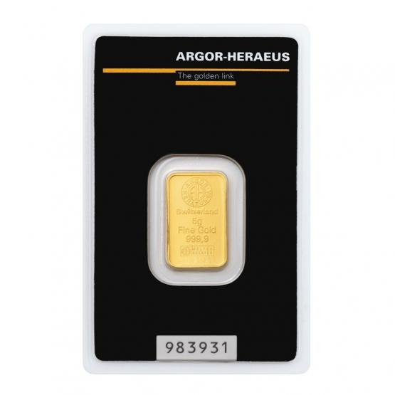 Investiční zlato 5 g