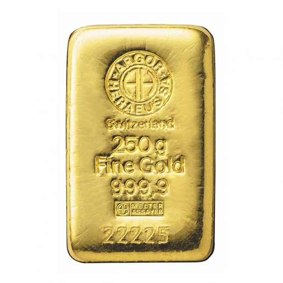 ARGOR-HERAEUS, Investiční zlato 250 g
