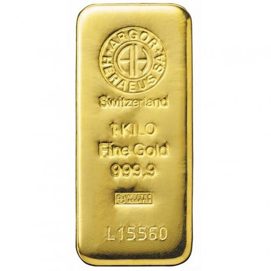 ARGOR-HERAEUS, Investiční zlato 1000 g