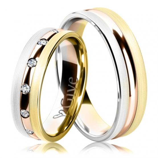 Snubní prsteny Jill