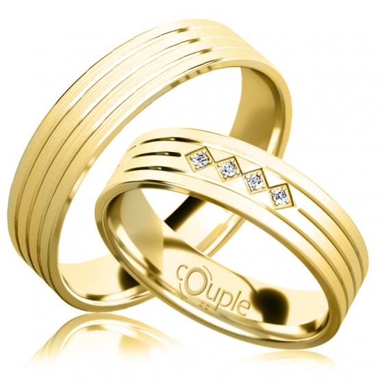 Snubní prsteny Quincy