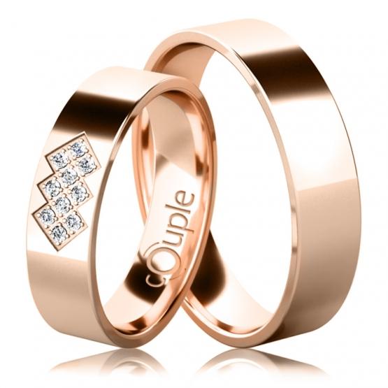 Snubní prsteny Asher