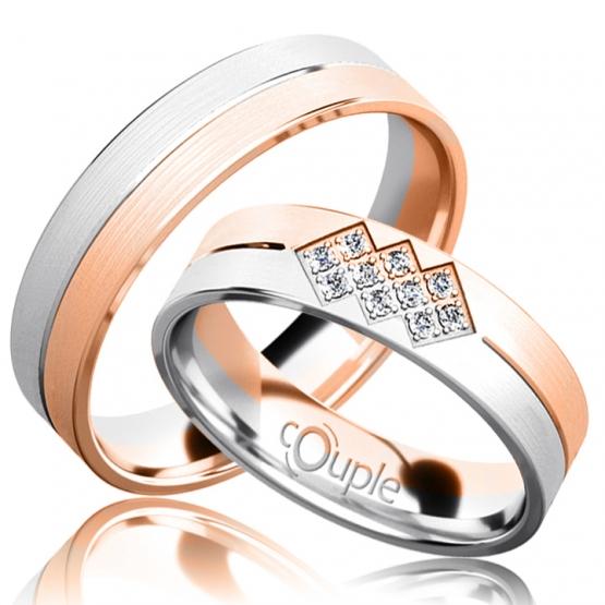 Snubní prsteny Bradley