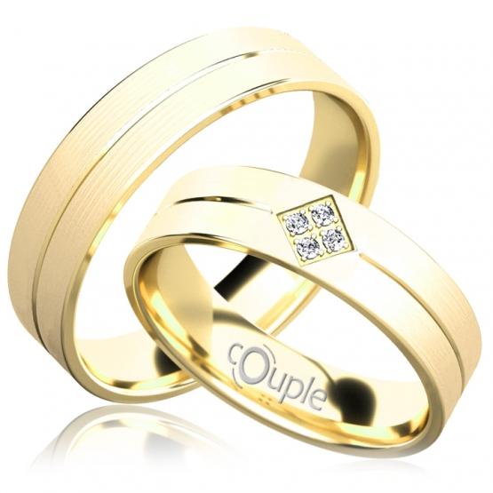 Snubní prsteny Jordan