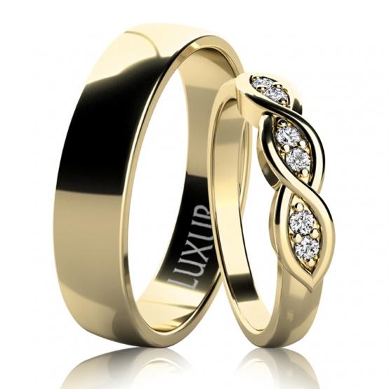 Snubní prsteny Clark