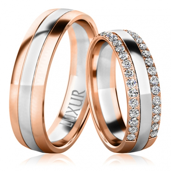 Snubní prsteny Sadie