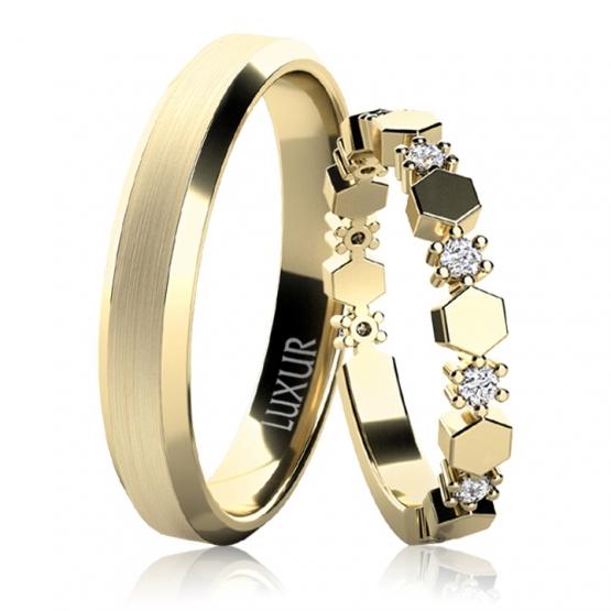 Snubní prsteny Dorian