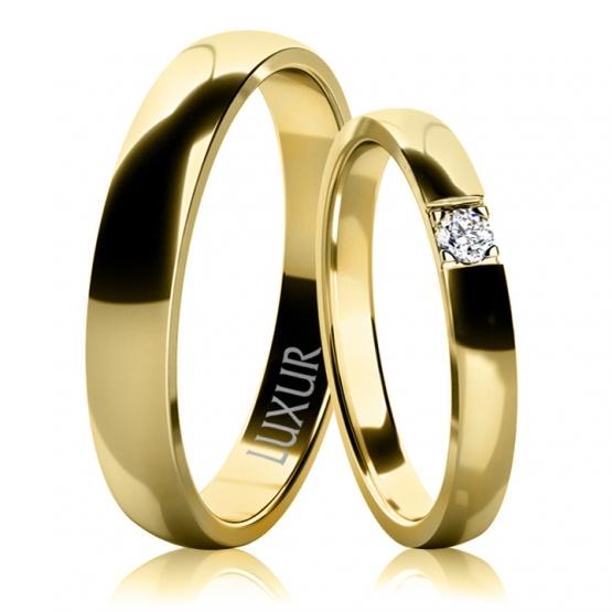 Luxur, Snubní prsteny Teagan