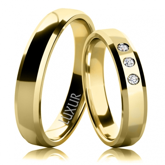 Snubní prsteny Ingrid