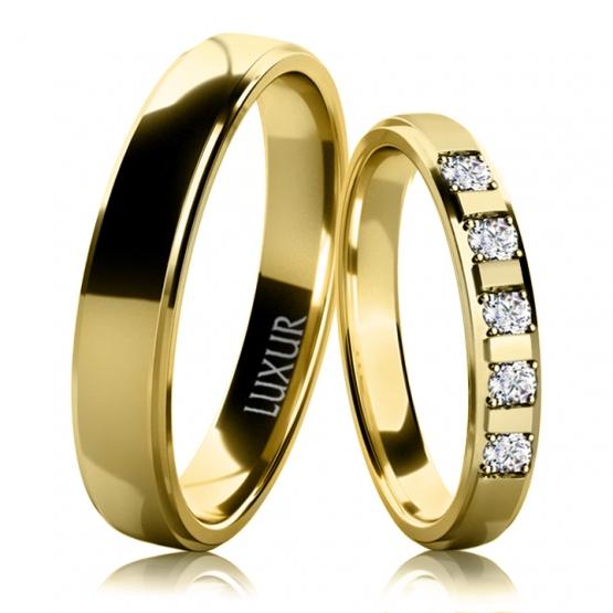 Luxur, Snubní prsteny Harvey