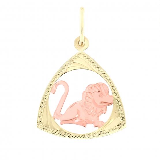 Znamení zvěrokruhu – přívěsek ze žlutého zlata