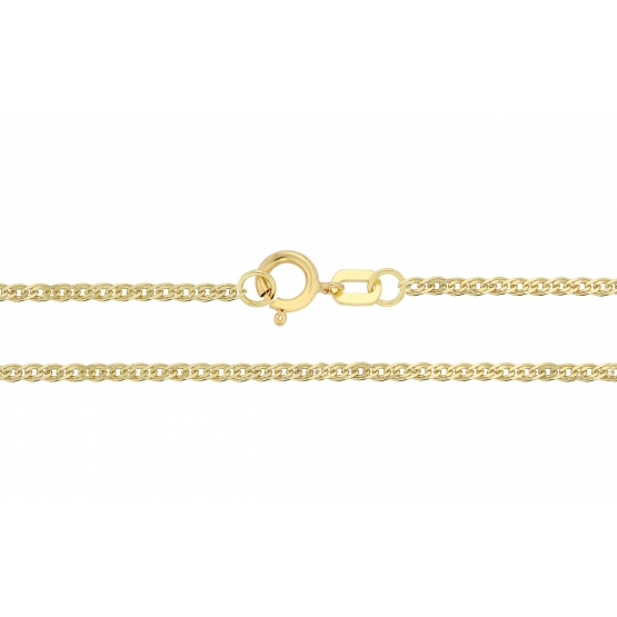 Luxur, Řetízek Cadwin typu rombo, žluté zlato, délka: 42 cm, 3640057-0-42-0