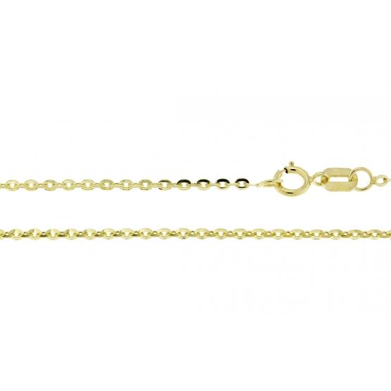 Přívěskový řetízek Rantai ze žlutého zlata