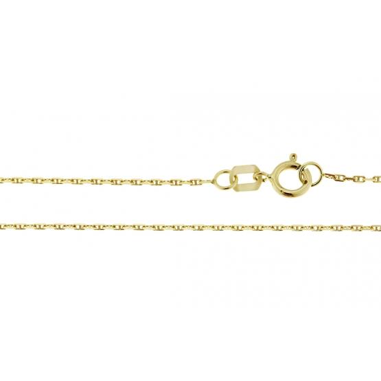 Luxur, Přívěskový řetízek ze žlutého zlata – vzor anker s můstkem